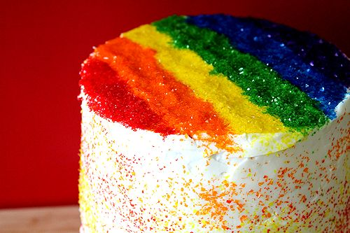 The Big Fat Rainbow Cake A Cup Of Sugar A Pinch Of Salt