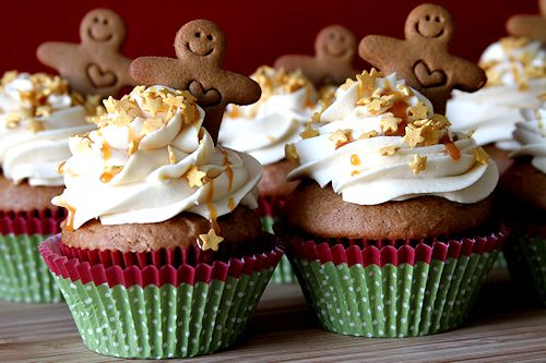 ... gingerbread cupcakes gingerbread cupcake these festive cupcakes are